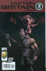 Captain Britain And MI13 #5 (2008) Blade Marvel comic book